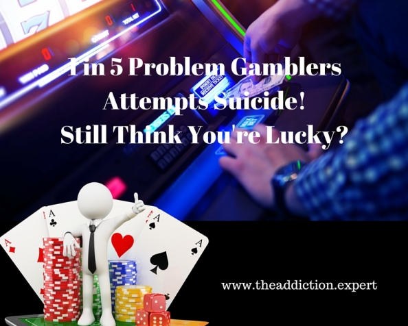 Addicted and Problem Gambling Can Cost More Than Money . ..