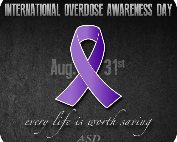 National Overdose Awareness Day. In Remembrance of Those Lost From Drug Overdose. Recovery isPossible.