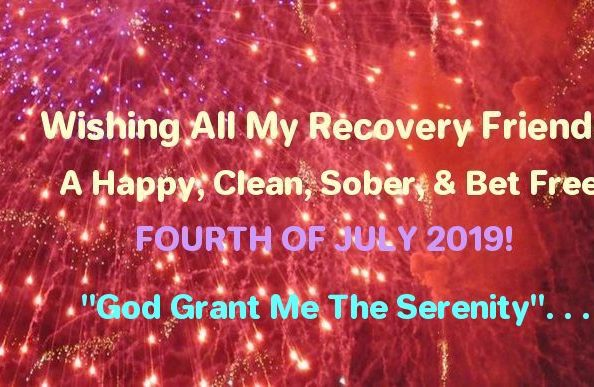Now a 4th of July Message From My Friends of The Florida Council on Compulsive Gambling…